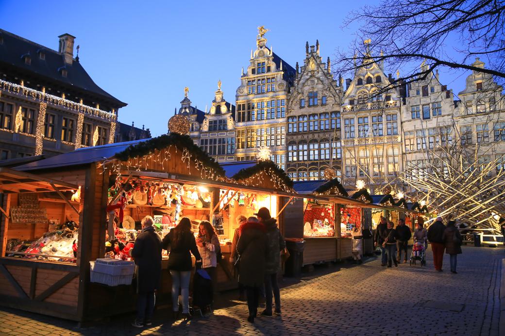 Eerste Kerstdag In Antwerpen